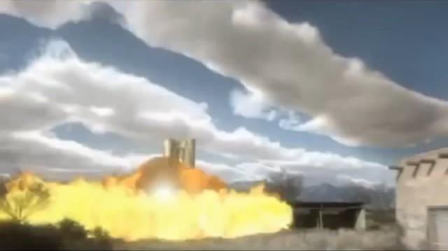 Bom thông minh do UAV Predator C Avenger thả xuống đã tiêu diệt mục tiêu do S-300 bảo vệ.