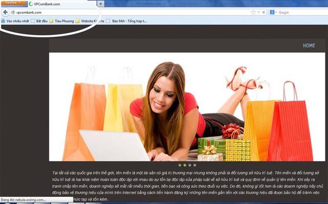 Vpcombank.com là 1 trong những tên miền đang gây nhầm lẫn cho khách hàng của ngân hàng PVcombank.