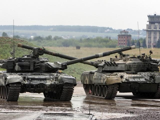 T-90 và T-80, 2 dòng xe tăng chủ lực hiện đại nhất của Nga