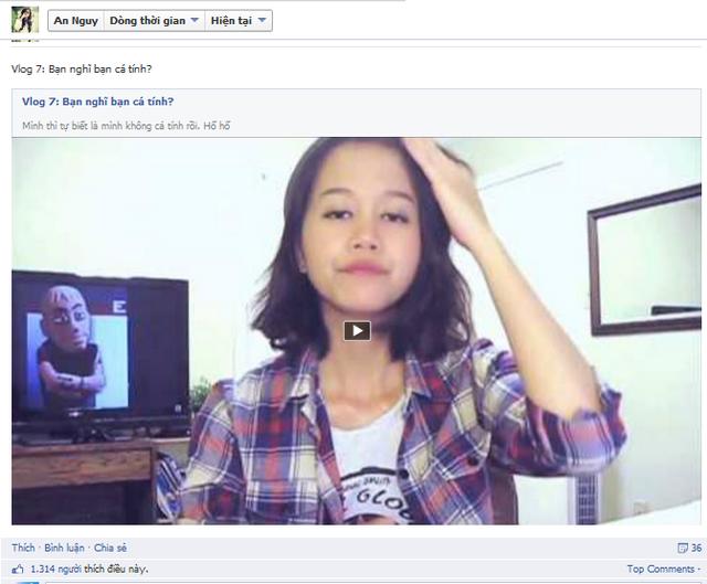 Vlog mới của An Nguy