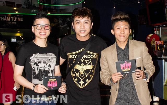 Mr.T cũng tới ủng hộ cho bộ phim đầu tay của bạn thân Yanbi.