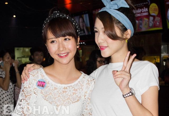 Emily và Quỳnh Anh Shyn.