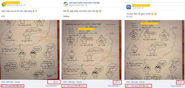 Trên các fanpage, bức ảnh thu hút hàng nghìn lượt like.