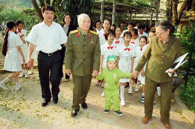 Những hình ảnh xúc động về Đại tướng của đại tá Trần Hồng