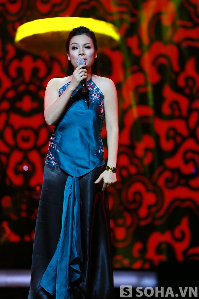 Đào Liễu là ca khúc mang âm hưởng dân gian duy nhất được vang lên trong đêm nhạc.