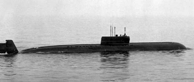 Tàu ngầm hạt nhân K-162 lớp Papa