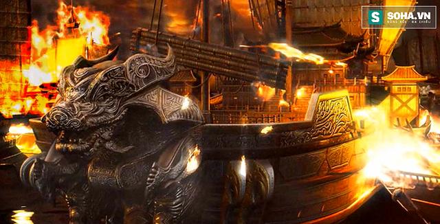 """Trận """"Xích Bích"""" chôn vùi đến 2000 chiến thuyền trong lịch sử Việt Nam"""