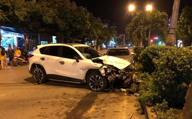Tài xế 18 tuổi lái Madaz CX5 đâm liên hoàn ở Hà Nội mượn xe của anh rể