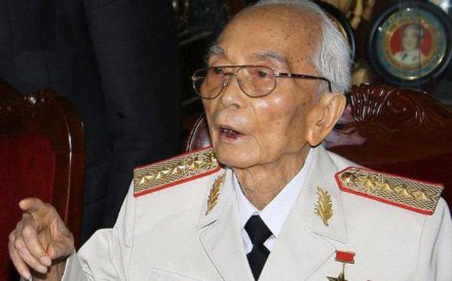 Đại tướng Võ Nguyên Giáp đã từ trần vào 18h chiều 04/10/2013
