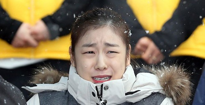 """Nữ hoàng trượt băng Kim Yuna cũng """"phát khóc"""" vì quá rét"""