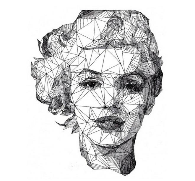Nghệ thuật vẽ chân dung bằng tam giác cực đỉnh