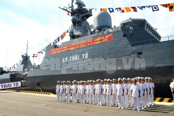 Uy lực chiến hạm Lý Thái Tổ của Hải quân Việt Nam