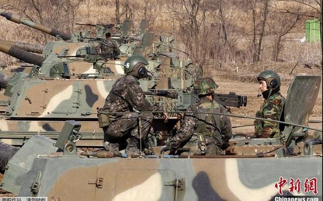 Video: Cận cảnh tập trận Mỹ - Hàn