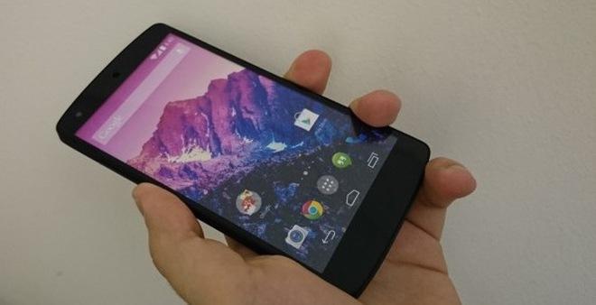 Ảnh cận cảnh và video trên tay Nexus 5