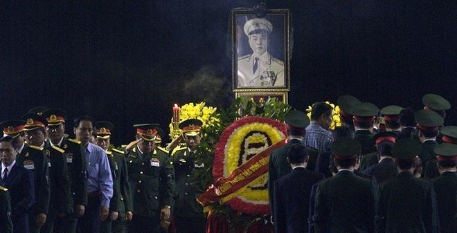Hình ảnh lễ viếng Đại tướng Võ Nguyên Giáp trên báo nước ngoài
