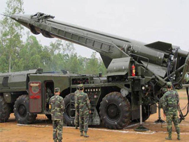 Xem mặt tên lửa đạn đạo duy nhất của Việt Nam