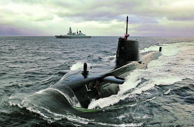 Khám phá tàu ngầm hạt nhân tấn công số 1 thế giới