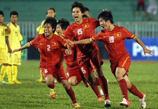 Chuẩn bị cho AFF Cup 2013, ĐT nữ Việt Nam đi tập huấn Hàn Quốc