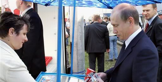 Những sở thích lãng mạn của Putin