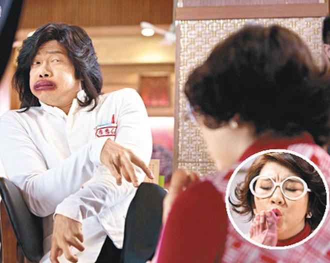 """""""Khó đỡ"""" với tạo hình của Huỳnh Tông Trạch trong phim Tết"""