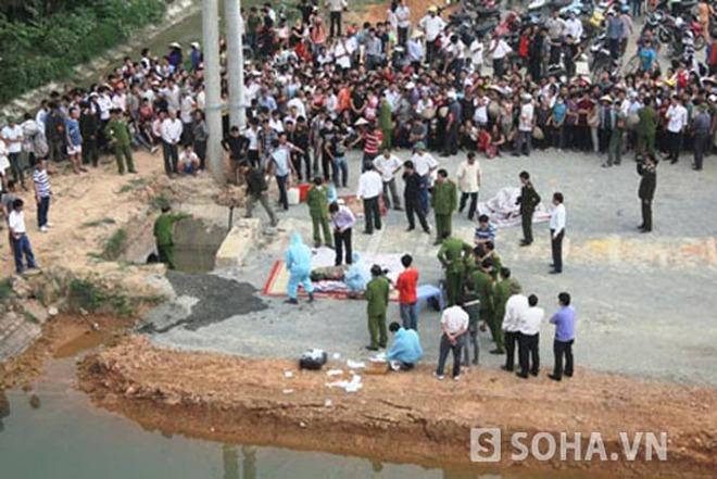 Vĩnh Phúc: Xác chết nam thanh niên trương phềnh dưới cống nước