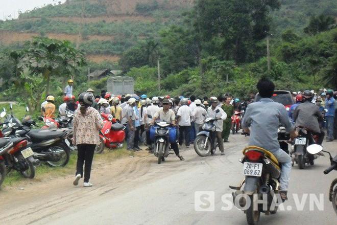 Thái Nguyên: Chồng nổ mìn giết vợ ngay ngoài đường quốc lộ