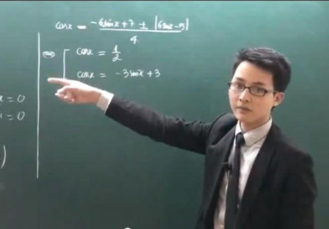 Video luyện thi Toán của thầy giáo trẻ có lượt truy cập khủng