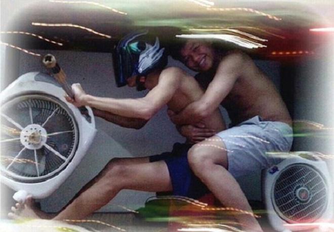 Hình ảnh hài hước và đáng yêu của những anh chàng SV Việt