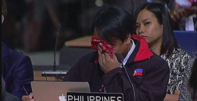 Nước mắt Philippines và bài phát biểu khiến thế giới chết lặng