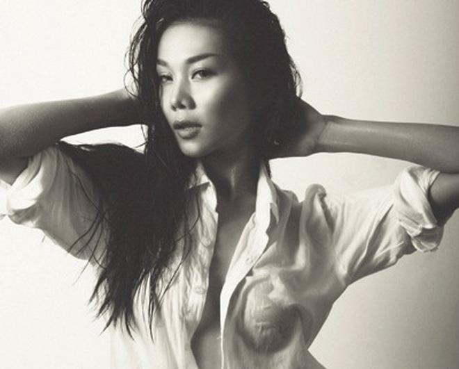 Những chiếc áo sơ mi trắng khiêu khích của mỹ nhân Việt