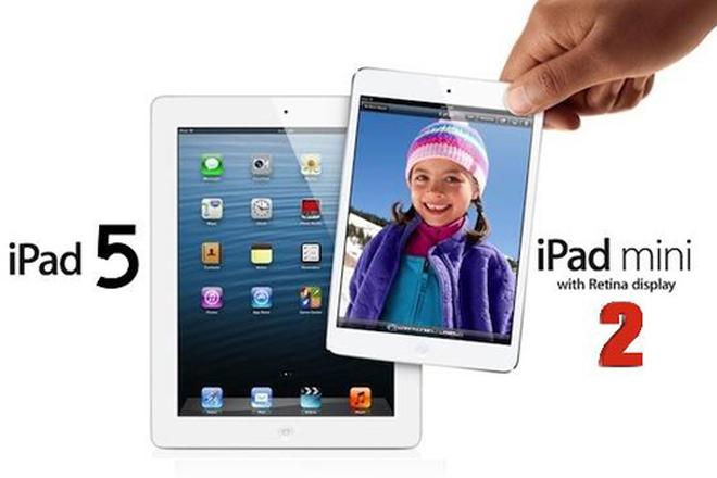 iPad 5, iPad mini 2 sẽ dùng camera 8 MP cải tiến