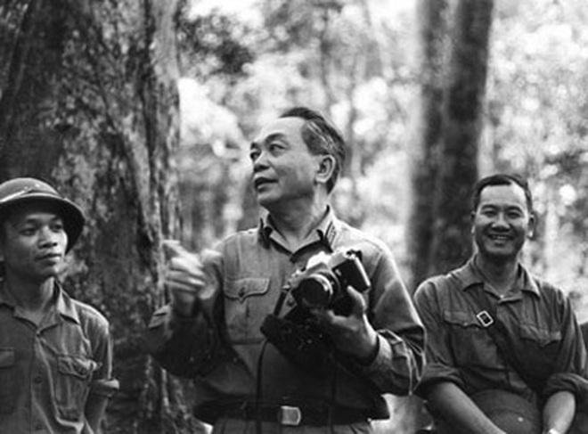 Đại tướng Võ Nguyên Giáp trả lời phỏng vấn