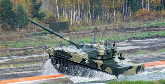 Nga nâng cấp pháo tự hành diệt tăng Sprut-SD