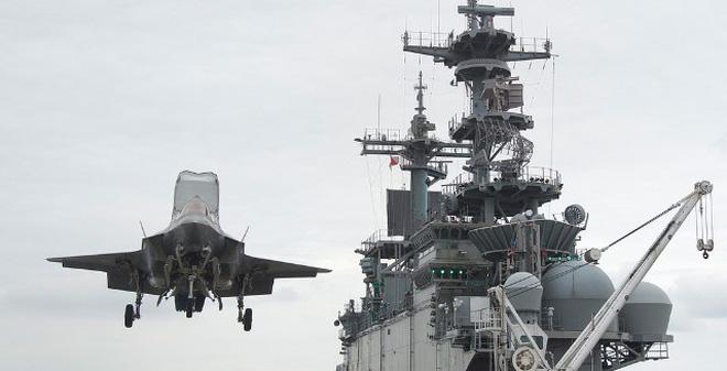 """F-35B có thể khiến đường băng """"tan chảy"""" nếu hạ cánh thẳng đứng"""
