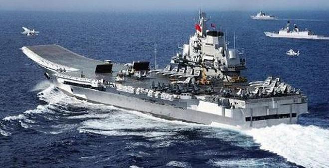 Tàu sân bay Liêu Ninh có thể bị hạ từ mọi hướng