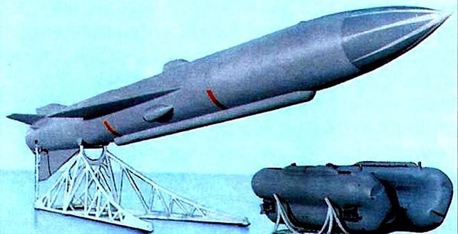 P-70 - Tên lửa đối hạm đầu tiên có thể phóng từ tàu ngầm đang lặn