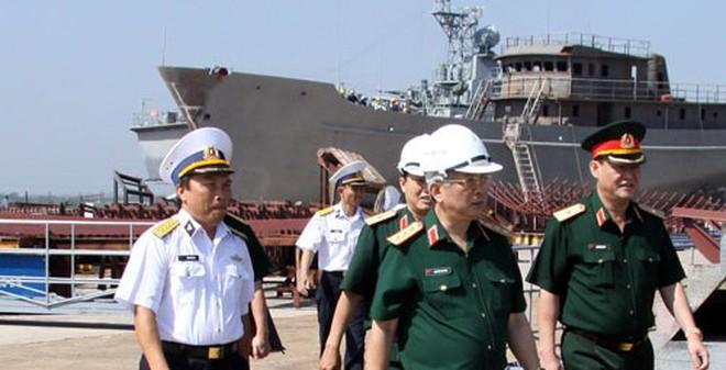 Tổng công ty Ba Son làm chủ công nghệ đóng và sửa chữa tàu chiến