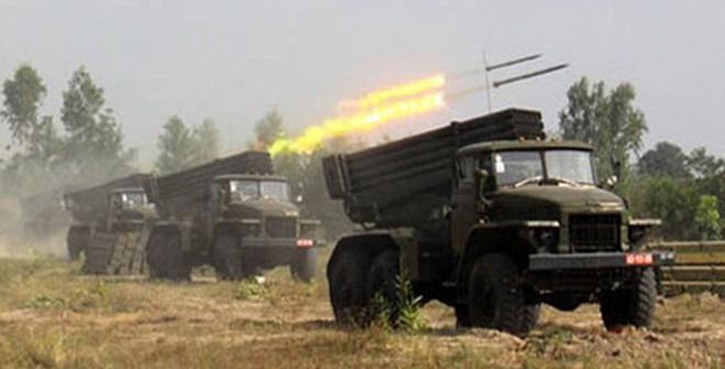 Kho pháo phản lực phóng loạt quy mô hàng đầu khu vực của VN