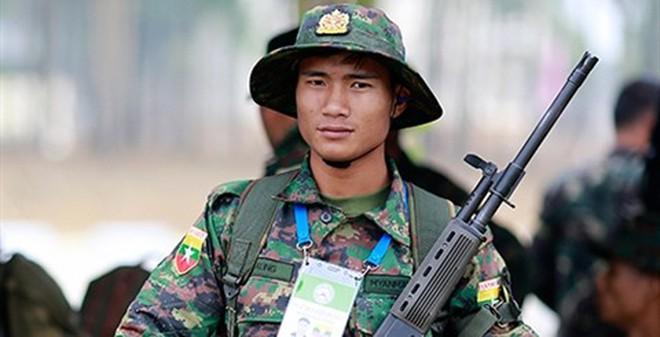 Súng trường Myanmar tự làm xuất hiện tại Việt Nam