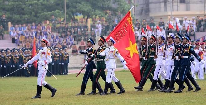TOÀN CẢNH: Diễu binh kỷ niệm 60 năm chiến thắng Điện Biên Phủ