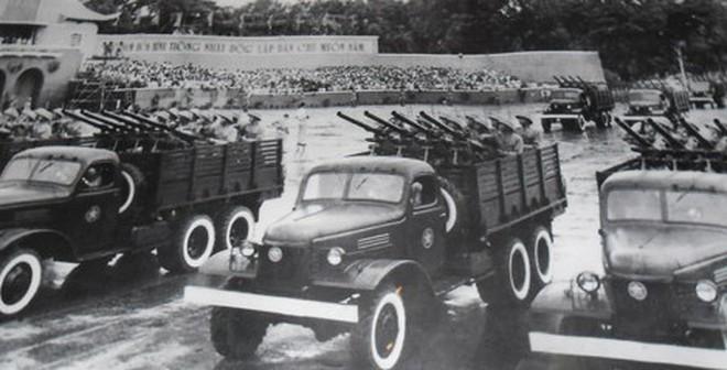 Cuộc duyệt binh mừng chiến thắng của QĐND Việt Nam ngày 1/1/1955