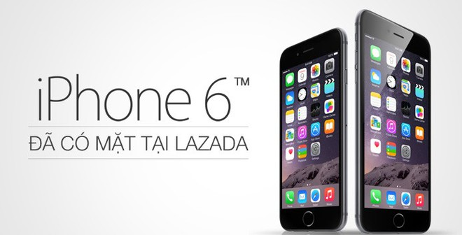 Săn voucher giảm đến 3 triệu khi mua iPhone 6 tại Lazada