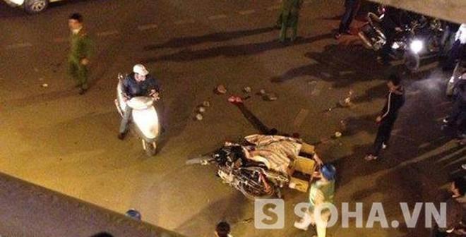 Tai nạn trong đêm, 1 thanh niên chết thảm trên đường Chùa Bộc