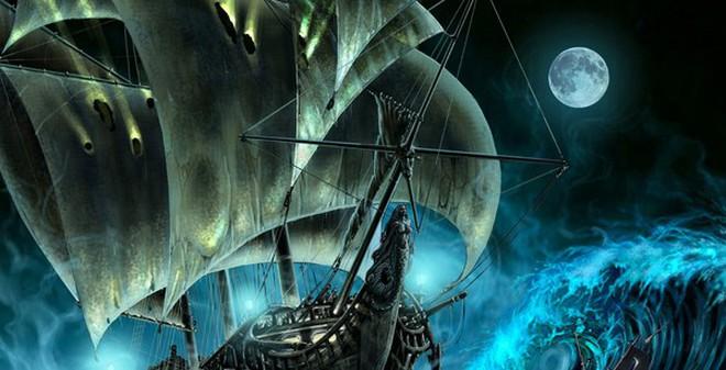 """Truyền thuyết về con tàu ma quái """"Người Hà Lan bay"""""""