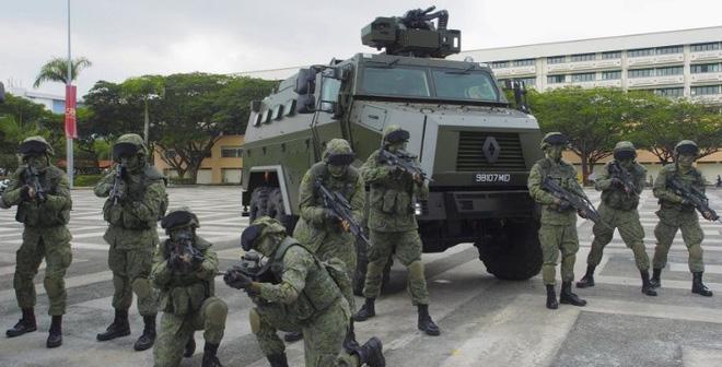 Xe bọc thép nội địa Peacekeeper PRV của Singapore có gì đặc biệt?