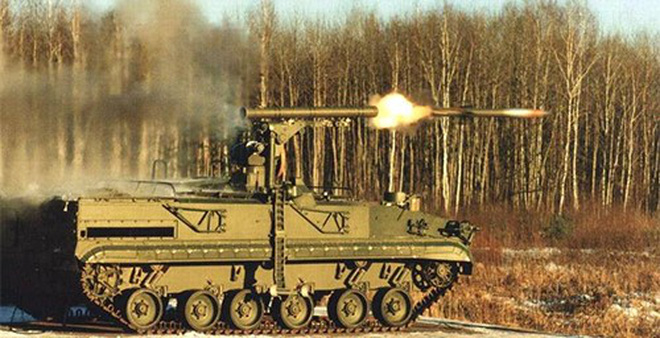 """Nga sẽ giới thiệu """"sát thủ xe tăng"""" tự hành Khrizantema-S tại IDEX-2015"""