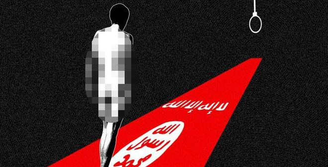 Một thủ lĩnh IS bị hạ nhục như trong phim