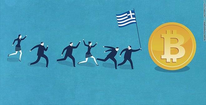Người Hy Lạp chuyển sang dùng tiền ảo Bitcoin