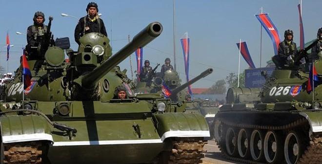 Xe tăng T-55AM2/AM2BP Campuchia có mạnh hơn T-55M3 Việt Nam?