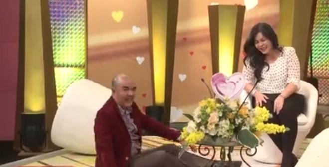 """Đôi vợ chồng """"bá đạo"""" khiến MC Quốc Thuận ngã ngửa ra sân khấu"""